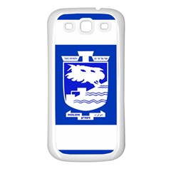 Flag of Holon  Samsung Galaxy S3 Back Case (White)