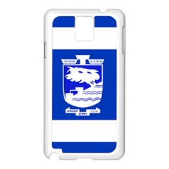 Flag of Holon  Samsung Galaxy Note 3 N9005 Case (White)