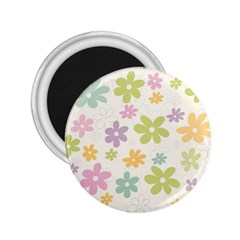 Beautiful spring flowers background 2.25  Magnets