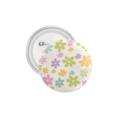 Beautiful spring flowers background 1.75  Buttons