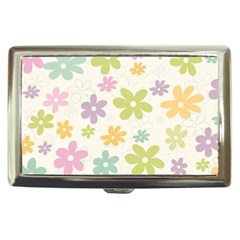 Beautiful spring flowers background Cigarette Money Cases