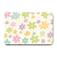 Beautiful spring flowers background Small Doormat