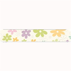 Beautiful spring flowers background Small Bar Mats