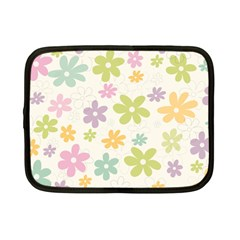 Beautiful spring flowers background Netbook Case (Small)