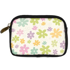 Beautiful spring flowers background Digital Camera Cases