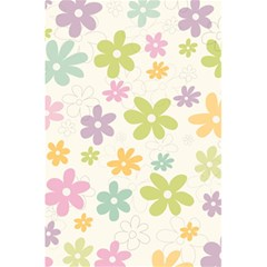 Beautiful spring flowers background 5.5  x 8.5  Notebooks