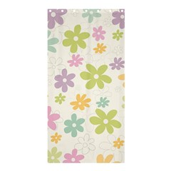 Beautiful spring flowers background Shower Curtain 36  x 72  (Stall)