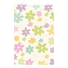 Beautiful spring flowers background Shower Curtain 48  x 72  (Small)