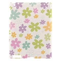 Beautiful spring flowers background Apple iPad 3/4 Hardshell Case