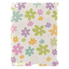 Beautiful spring flowers background Apple iPad 3/4 Hardshell Case (Compatible with Smart Cover)