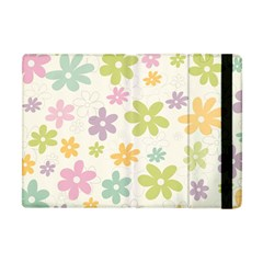 Beautiful spring flowers background Apple iPad Mini Flip Case