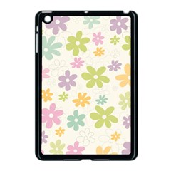 Beautiful spring flowers background Apple iPad Mini Case (Black)