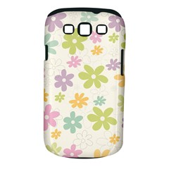 Beautiful spring flowers background Samsung Galaxy S III Classic Hardshell Case (PC+Silicone)