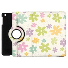 Beautiful spring flowers background Apple iPad Mini Flip 360 Case