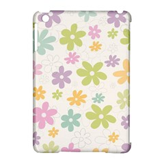 Beautiful spring flowers background Apple iPad Mini Hardshell Case (Compatible with Smart Cover)