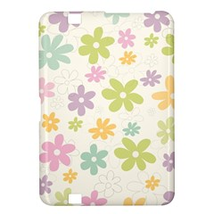 Beautiful spring flowers background Kindle Fire HD 8.9
