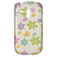 Beautiful spring flowers background Galaxy S3 Mini
