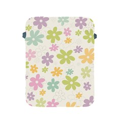 Beautiful spring flowers background Apple iPad 2/3/4 Protective Soft Cases