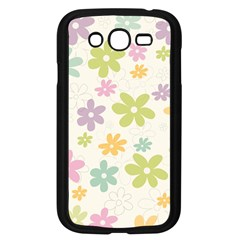Beautiful spring flowers background Samsung Galaxy Grand DUOS I9082 Case (Black)