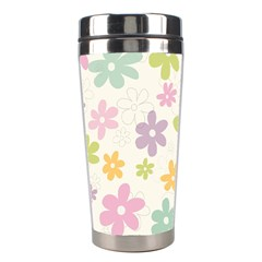 Beautiful spring flowers background Stainless Steel Travel Tumblers