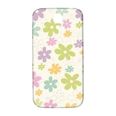 Beautiful spring flowers background Samsung Galaxy S4 I9500/I9505  Hardshell Back Case
