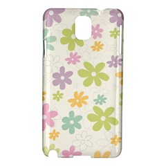 Beautiful spring flowers background Samsung Galaxy Note 3 N9005 Hardshell Case