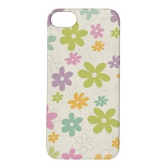 Beautiful spring flowers background Apple iPhone 5S/ SE Hardshell Case