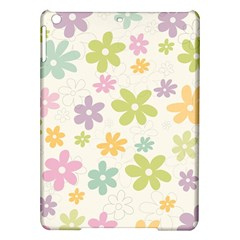 Beautiful spring flowers background iPad Air Hardshell Cases