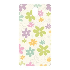 Beautiful spring flowers background Samsung Galaxy Note 3 N9005 Hardshell Back Case