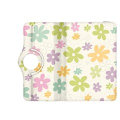 Beautiful spring flowers background Kindle Fire HDX 8.9  Flip 360 Case