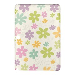 Beautiful spring flowers background Samsung Galaxy Tab Pro 10.1 Hardshell Case