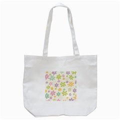 Beautiful spring flowers background Tote Bag (White)