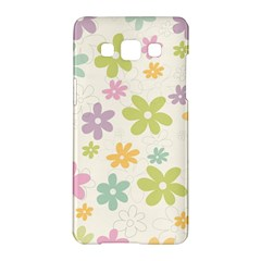 Beautiful spring flowers background Samsung Galaxy A5 Hardshell Case