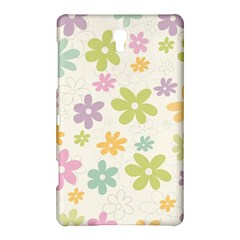 Beautiful spring flowers background Samsung Galaxy Tab S (8.4 ) Hardshell Case