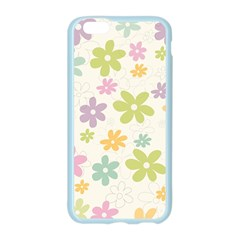 Beautiful spring flowers background Apple Seamless iPhone 6/6S Case (Color)