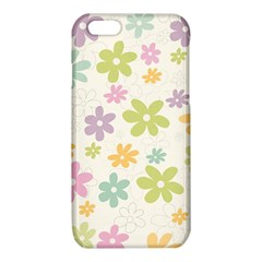Beautiful spring flowers background iPhone 6/6S TPU Case