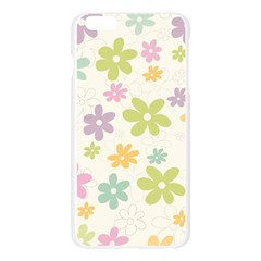 Beautiful spring flowers background Apple Seamless iPhone 6 Plus/6S Plus Case (Transparent)