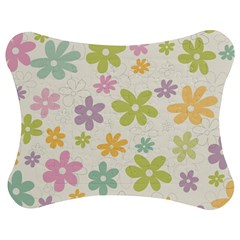 Beautiful spring flowers background Jigsaw Puzzle Photo Stand (Bow)