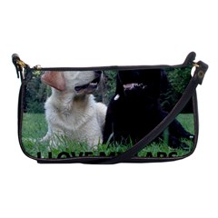 I Love My Labs W Pic Shoulder Clutch Bags