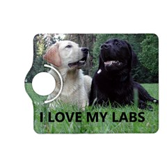 I Love My Labs W Pic Kindle Fire HD (2013) Flip 360 Case