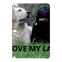 I Love My Labs W Pic Samsung Galaxy Tab Pro 10.1 Hardshell Case