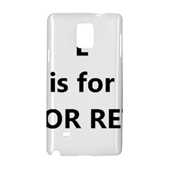 L Is For Lab Samsung Galaxy Note 4 Hardshell Case