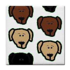 Lab 3 Colors Cartoon Head Face Towel