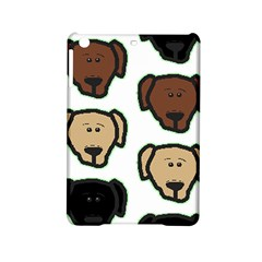 Lab 3 Colors Cartoon Head iPad Mini 2 Hardshell Cases