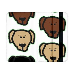 Lab 3 Colors Cartoon Head Samsung Galaxy Tab Pro 8.4  Flip Case
