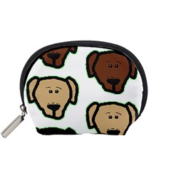 Lab 3 Colors Cartoon Head Accessory Pouches (Small)