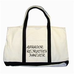 Lab Fancier Two Tone Tote Bag