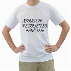 Lab Fancier Men s T-Shirt (White)