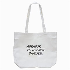 Lab Fancier Tote Bag (White)