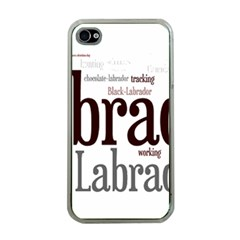 Lab Mashup Apple iPhone 4 Case (Clear)